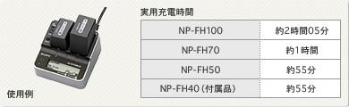 ACアダプター/チャージャー AC-VQH10